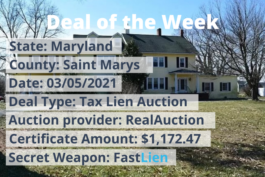 Deal of the Week Saint Marys MD